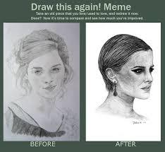 Emma Watson Meme - draw this again meme emma watson by lightrosey on deviantart