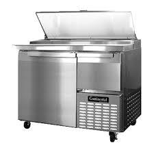 continental pizza prep table continental refrigerator cpa43 pizza prep tables