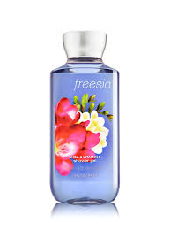 freesia shower gel signature collection bath body works