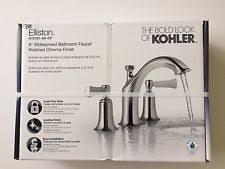 Kohler Pinstripe Faucet Kohler Chrome Widespread Home Faucets Ebay