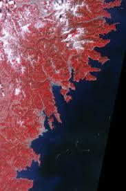 japan earthquake fire earth