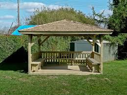 Patio Gazebo Plans by Outdoor Simple Square Gazebo Designs Plans Free Tamingthesat