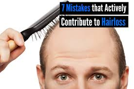 Measures To Prevent Hair Loss 7 Common Mistakes That Actively Contribute To Hairloss