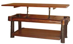 Lift Top Coffee Tables Rustic Hickory Lift Top Coffee Table From Dutchcrafters Amish
