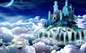 favourite nature fairy tail tale castle wallpaper fantasy