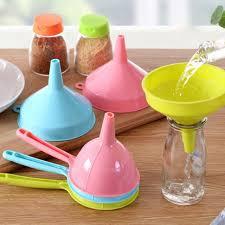 entonnoir cuisine entonnoir de cuisine en plastique facile à nettoyer vin filtre à