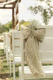 Ceremony Decorations ♥ Wedding Chair Decorations And Ideas