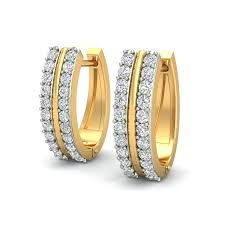 diamond earrings sale yarnell hoops diamond earrings buy hoops earrings in india
