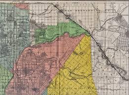 San Bernardino County Map Carbon Canyon Chronicle 01 2017