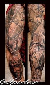 Religious Sleeve Tattoos Ideas Angel Religious Sleeve Tattoos For Men Http Tattooeve Com