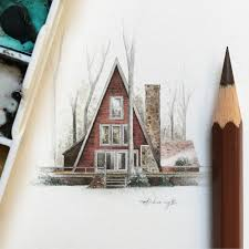 Cabin Drawings My Cabin Drawings Album On Imgur