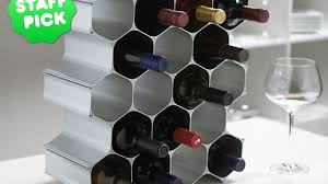 winehive modular wine rack perfect gifts for wine lovers by