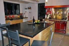 cuisine noir et rouge indogate com cuisine rouge ilot central