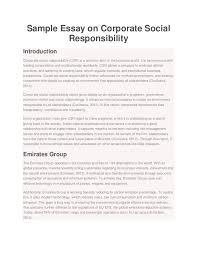 corporate resume exles corporate social responsibility resume exles exles of resumes