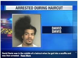 arrested during haircut just5moremin