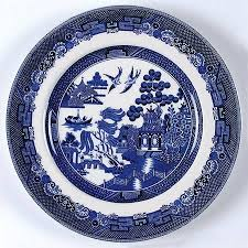 Johnson Brothers Dinnerware Dinnerware Johnson Johnson Brothers Willow Blue Made In Earthenware At