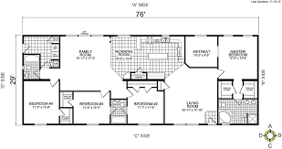 Champion Modular Home Floor Plans Strikingly Beautiful Champion Double Wide Floor Plans 14 Mobile
