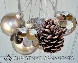 diy ideas make ornaments at home pretty designs