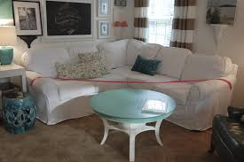 Arhaus Slipcover Chair U0026 Sofa Usual Slipcovered Sofas For Classic Sofa Idea