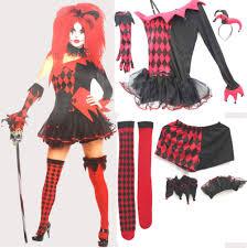 ladies clown halloween costumes popular women clown costume buy cheap women clown