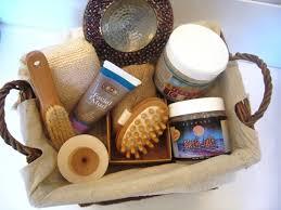 spa basket put together a spa gift basket