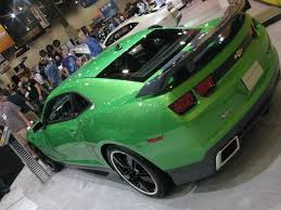 chevrolet to add synergy green to camaro color palette for my2011