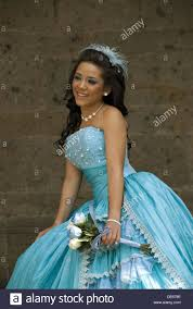 mexican at quinceanera celebration the