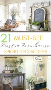 decor ideas 21 must see rustic farmhouse decor ideas a hundred affections