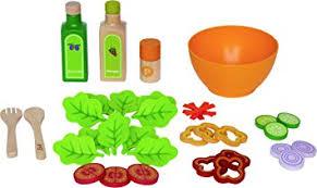 jeux de cuisine salade hape e3116 jeu d imitation en bois cuisine salade du potager
