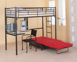 full loft bed with desk decorate my house