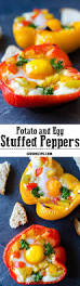 potato and egg stuffed peppers recipe fried potatoes perfect