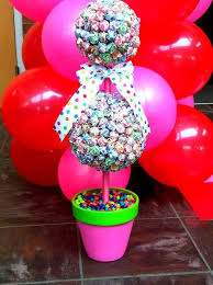 Candy Topiary Centerpieces - 18 yummy candy centerpieces for kids u0027 parties shelterness