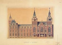 Rijksmuseum Floor Plan Netherlands Architecture Institute Item Cuypers And The