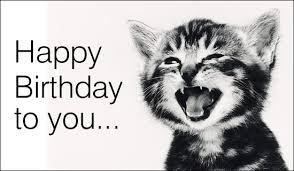 singing text message for birthday happy birthday to you singing cat birthday ecards