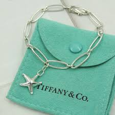 silver charm link bracelet images Tiffany co elsa peretti starfish charm sterling silver link jpg