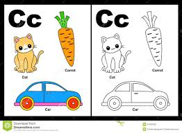 letter c worksheet stock photos image 24255003