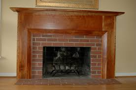 brick fireplace mantel binhminh decoration