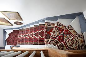 Rug For Stairs Steps A Gorgeous Vintage Runners Diy Idea For Your Stairs
