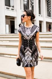 express dress nyfw day to cape dress sequin edge wendy s