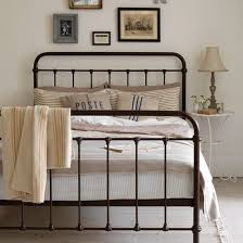 Iron Rod Bed Frame Decorate Your Bedroom With Stylish Wrought Iron Beds Boshdesigns