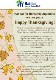 thanksgiving roosevelt holiday habitat for humanity argentina project update