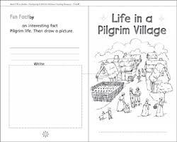 in a pilgrim a thanksgiving mini book printable mini