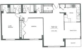 London Terrace Towers Floor Plans by Hampshire Tower Apartments