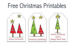 free christmas printables gift tags notepaper envelopes