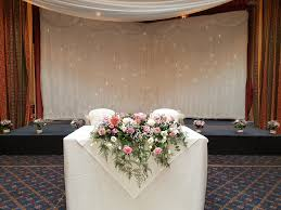 Personalised Wedding Backdrop Uk Les Fleurs Florist Wedding Hire Paignton Torquay Brixham