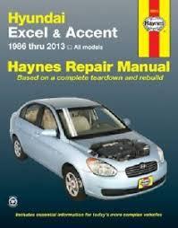 repair manual haynes 43015 fits 95 13 hyundai accent ebay