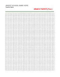Free Printable Spreadsheets Blank Excel 30 Free Printable Graph Paper Templates Word Pdf Template