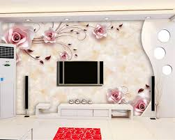online buy wholesale rose wall mural wallpaper from china rose beibehang wall murals wallpaper high definition marble rose photo mural wallpaper 3d living room bedroom