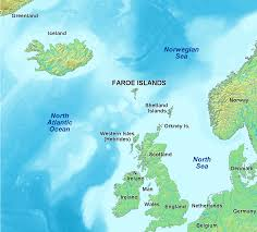Shetland Islands Map Art And Architecture Mainly Faroe Islands The Vikings And The