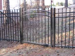 gallery aluminum ornamental fences fox fence company kennesaw ga